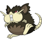 Raticate de Alola (dream world).png