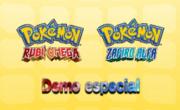 Carátula Demo especial de Pokémon Rubí Omega y Pokémon Zafiro Alfa.png