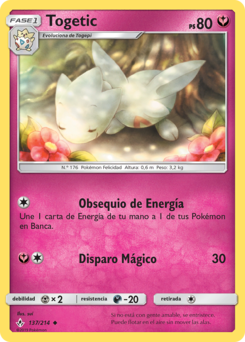 Carta de Togetic