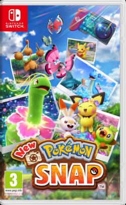 Carátula de New Pokémon Snap.