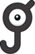 Unown J (dream world).png