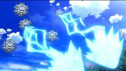 Cryogonal usando Rayo hielo.