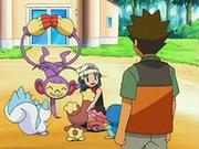 EP530 Maya con sus Pokémon.png
