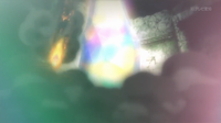 Cometa draco de Mega-Rayquaza en un flashback del SME02.