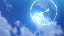 Lugia salvaje usando hidrobomba.