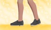 Zapatos Planos Negro.png