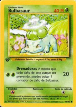 Carta de Bulbasaur
