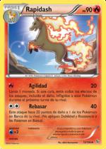 Rapidash (Destellos de Fuego TCG).png