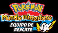 Logo de Pokémon Mundo misterioso: equipo de rescate DX.