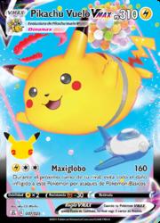 Pikachu Vuelo VMAX (Celebraciones TCG).png