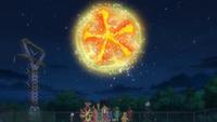 Movimiento combinado de los Pokémon de los ultraguardianes en un flashback del EP1021.