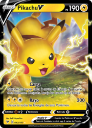 Pikachu V (Voltaje Vívido 43 TCG).png