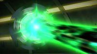 Cryogonal usando rayo aurora.