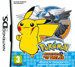 Carátula de Aprende con Pokémon: Aventura entre las teclas