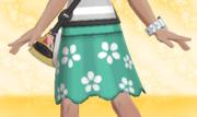 Falda de Flores Verde.png
