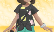 Camiseta de Flores Negro.png