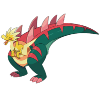 Ilustración de Dracozolt