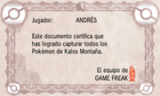 Certificado Pokédex Kalos Montaña XY.png