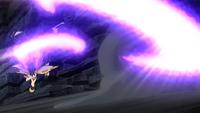 Necrozma melena crepuscular usando psicocorte.