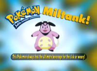 """La leche de este Pokémon cura a débiles y enfermos""."
