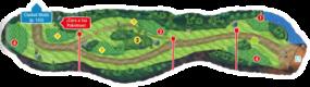 Mapa de la ruta 11