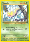 Weedle (Base Set 2 TCG)