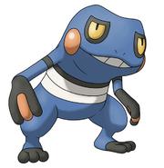 Croagunk en Pokémon Ranger 2.png
