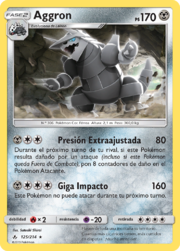 Aggron (Vínculos Indestructibles TCG).png