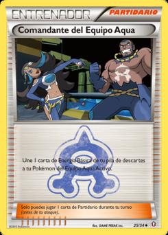 Carta Comandante del Equipo Aqua