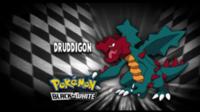 """Druddigon en el segmento """"¿Quién es ese Pokémon?/¿Cuál es este Pokémon?"""""""