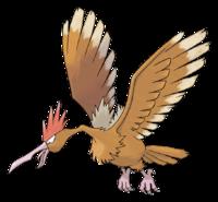 Ilustración de Fearow