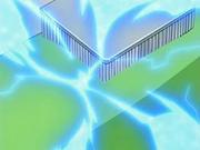 Descargas de electricidad producidas por el uso de un cepillo metálico.