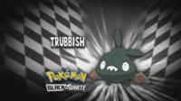 """Trubbish en el segmento """"¿Quién es ese Pokémon?/¿Cuál es este Pokémon?"""""""