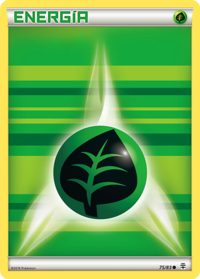 Carta de la energía planta