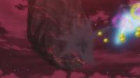 Bomba germen del Gourgeist de Jessie en el vídeo del Equipo/Team Rocket.