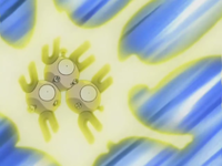 Magneton usando rayo.