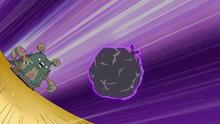 Garbodor usando lanza mugre