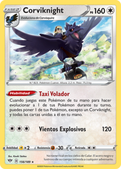 Carta de Corviknight