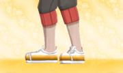 Zapatillas de Deporte Naranja Gradual.png