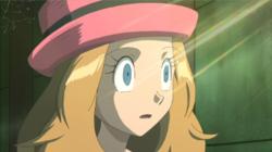 Serena hipnotizada.