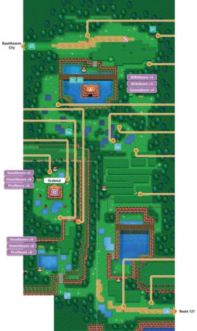 Mapa de la ruta 120