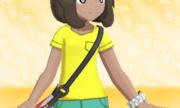 Camiseta con Cuello de Pico Amarillo.png