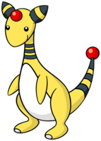 Ampharos (dream world).png