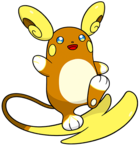 Raichu de Alola (dream world).png