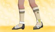 Calcetines de Deporte Beis.png
