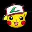 Pikachu gorra original