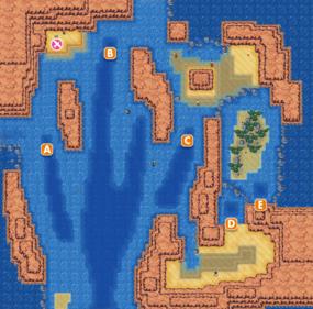 Mapa de la ruta 127
