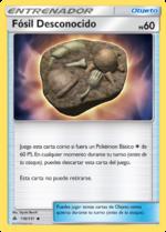 Fósil Desconocido (Luz Prohibida TCG).png