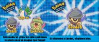 ¿Cuál de estos Pokémon le afecta más un ataque tipo fuego?