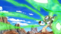 Chesnaught de Ichigaya usando pin misil.